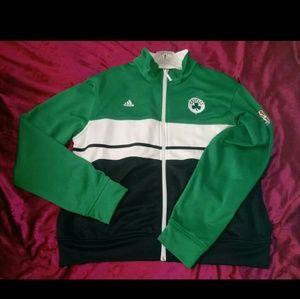 Boston Celtics women's Adidas jacket. Size XL